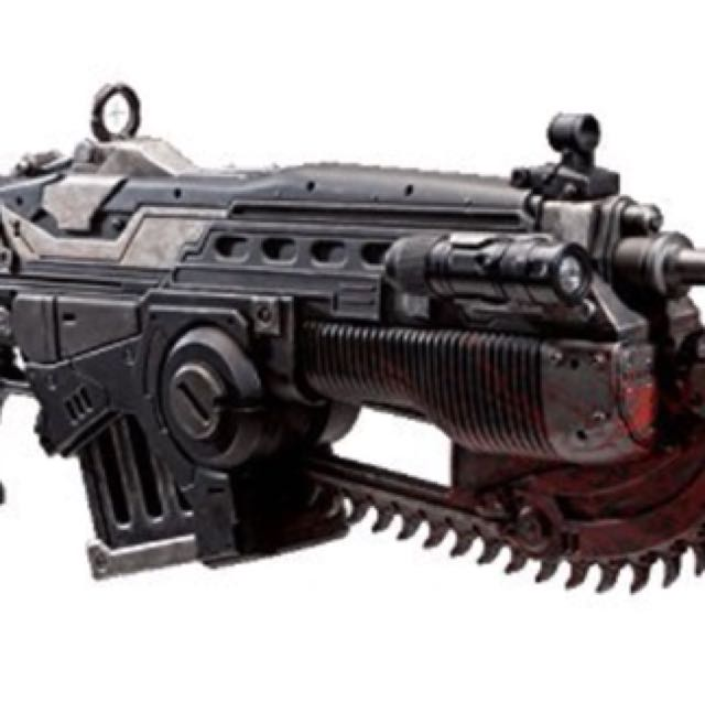Gears of War Lancer Collectable