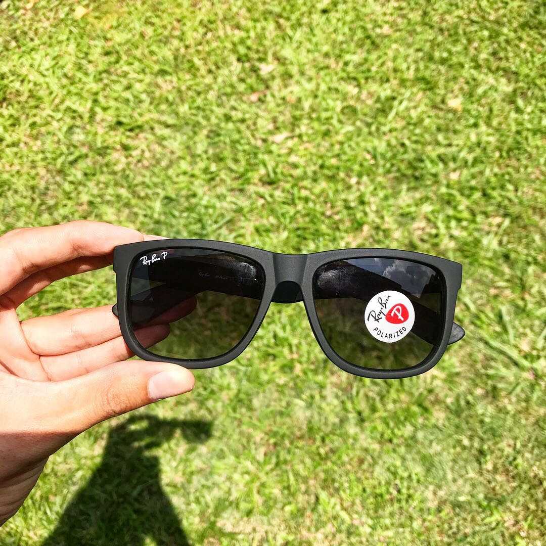 858e873cfb Genuine Ray Ban Justin RB4165 622 8G Gradient Polarized 54MM