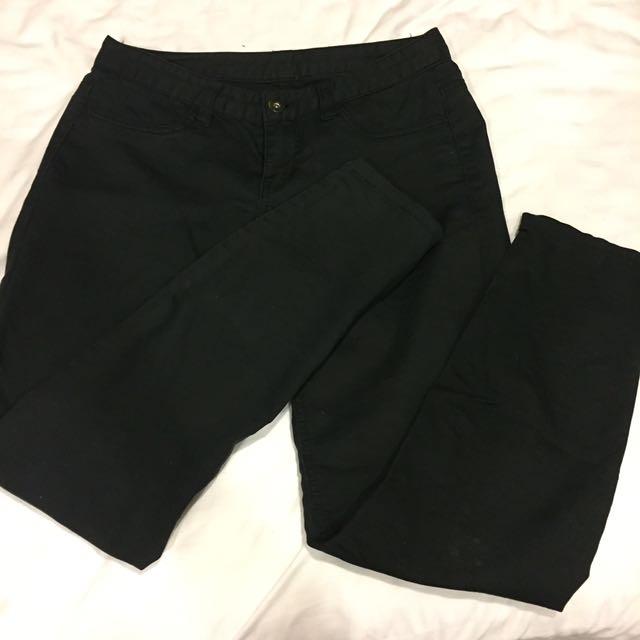 Giodano 黑色長褲