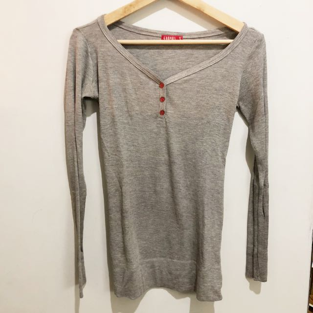 Graphis Grey Long Shirt