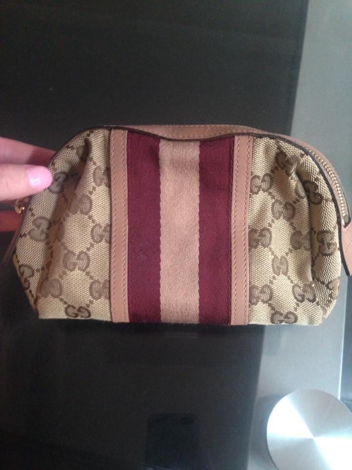 Gucci cosmetic case