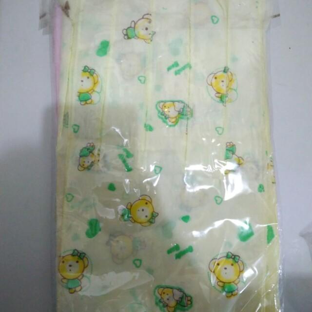 Gurita bayi bermotif 12 pcs