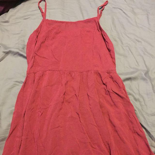 HM - Burgundy Dress