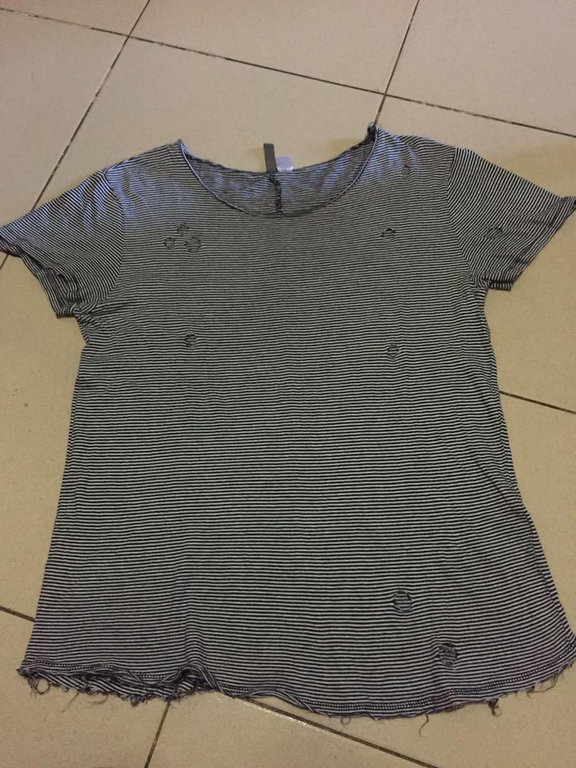 H&M reaped shirt