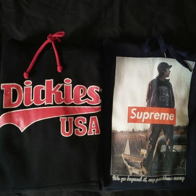 Hoodie dickies x sumpreme