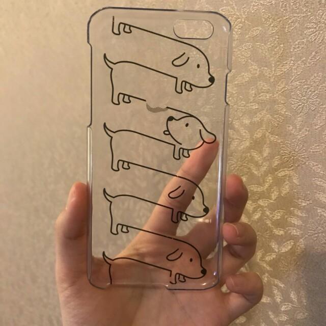 i6 / i6s 手機殼 臘腸狗 文青 #換季五折