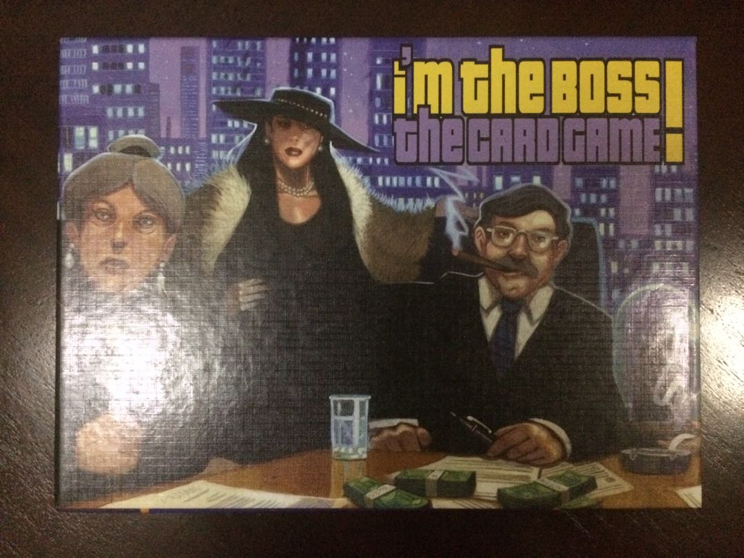 Im the Boss Card Game