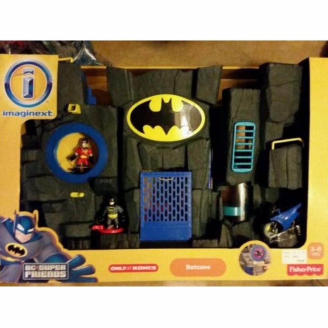 Imaginext Batman Batcave Robin justice league dark knight