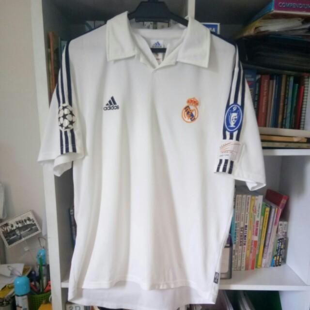 online retailer cddb4 6c090 Jersi Adidas Real Madrid 2000-01 Jersey