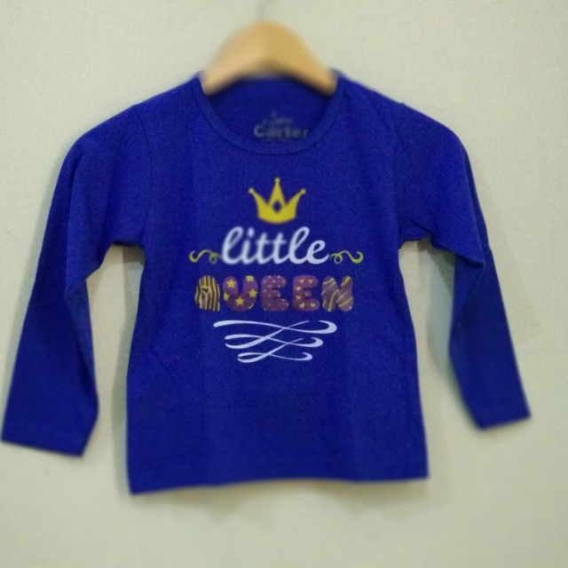 Kaos Panjang Anak Little 3-4 th