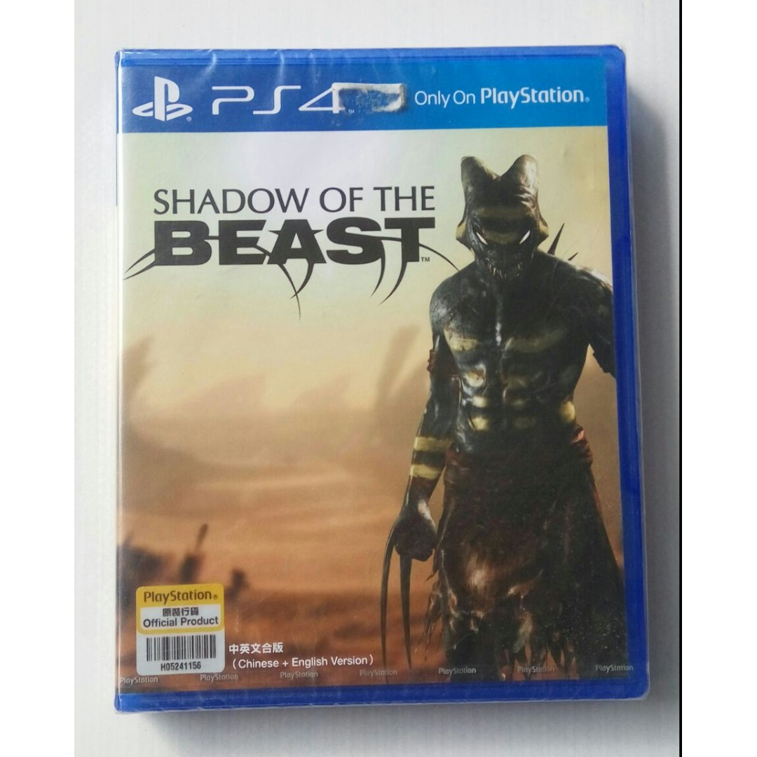Kaset Bd Ps4 Original New Game Shadow Of The Beast Video Watch Dogs Reg 1 Di Carousell