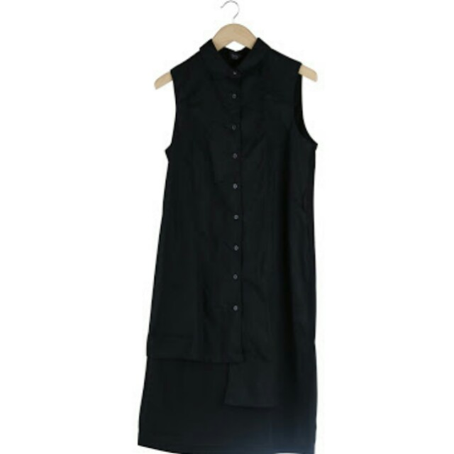 Kept assymetrical black tunic or dress