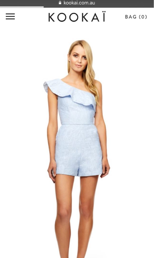 Kookai villa playsuit 34