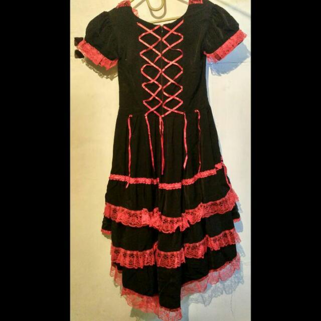 Kostum Cosplay Dollheart Lolita