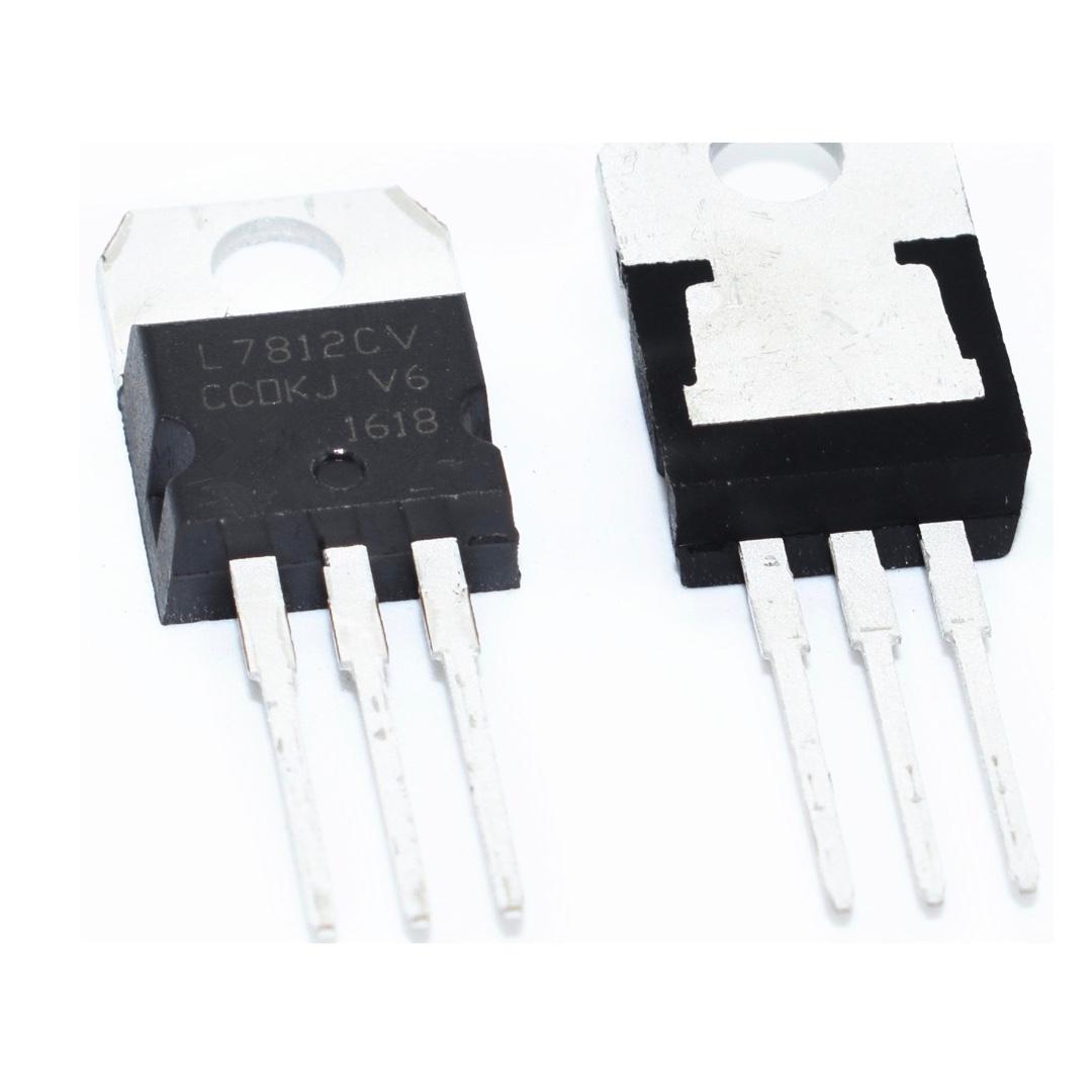 L7812cv L7812 7812 Positive Voltage Regulators T0 220 Electronics Regulator Circuit Others On Carousell