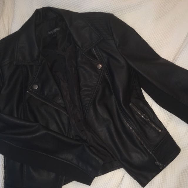 Leather Jacket Just Jeans