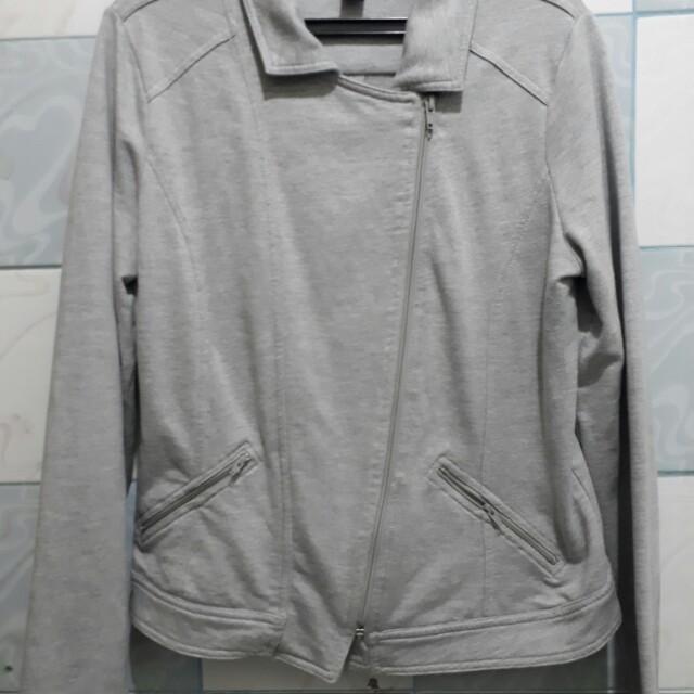 Light Grey Jacket/ cardigan