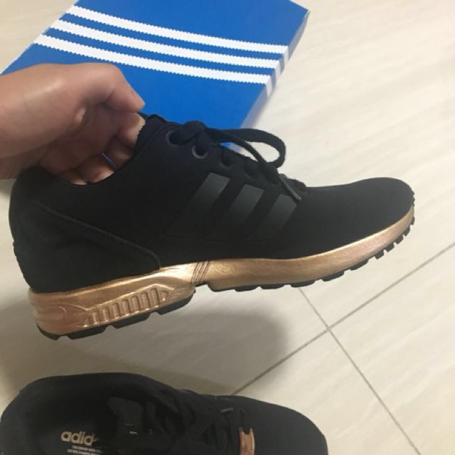 Limited edition adidas zx flux copper