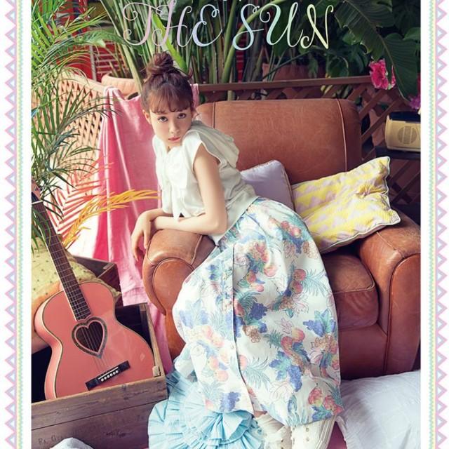 全新絕版🌹玲奈雜誌款LIZ LISA玫瑰釦水果柄長裙(F)