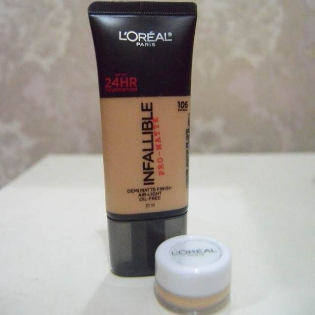 Loreal infallible pro matte 106 (share in 5gr)
