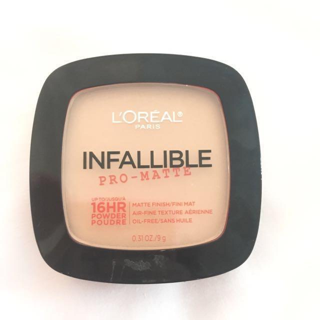 Loreal Pro-Mattee powder