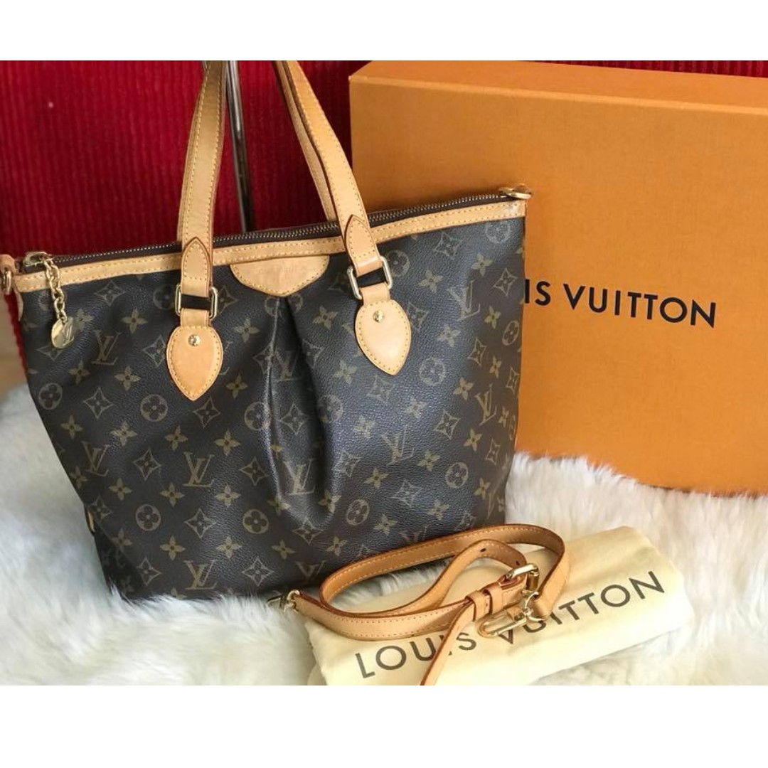 Louis Vuitton Palermo PM Monogram 1d8c0a9dbcd40