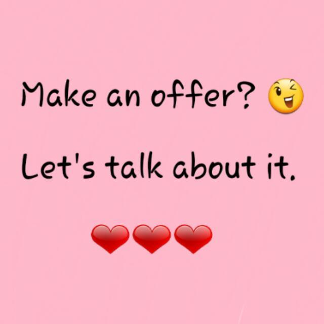 Make An Offer 😉