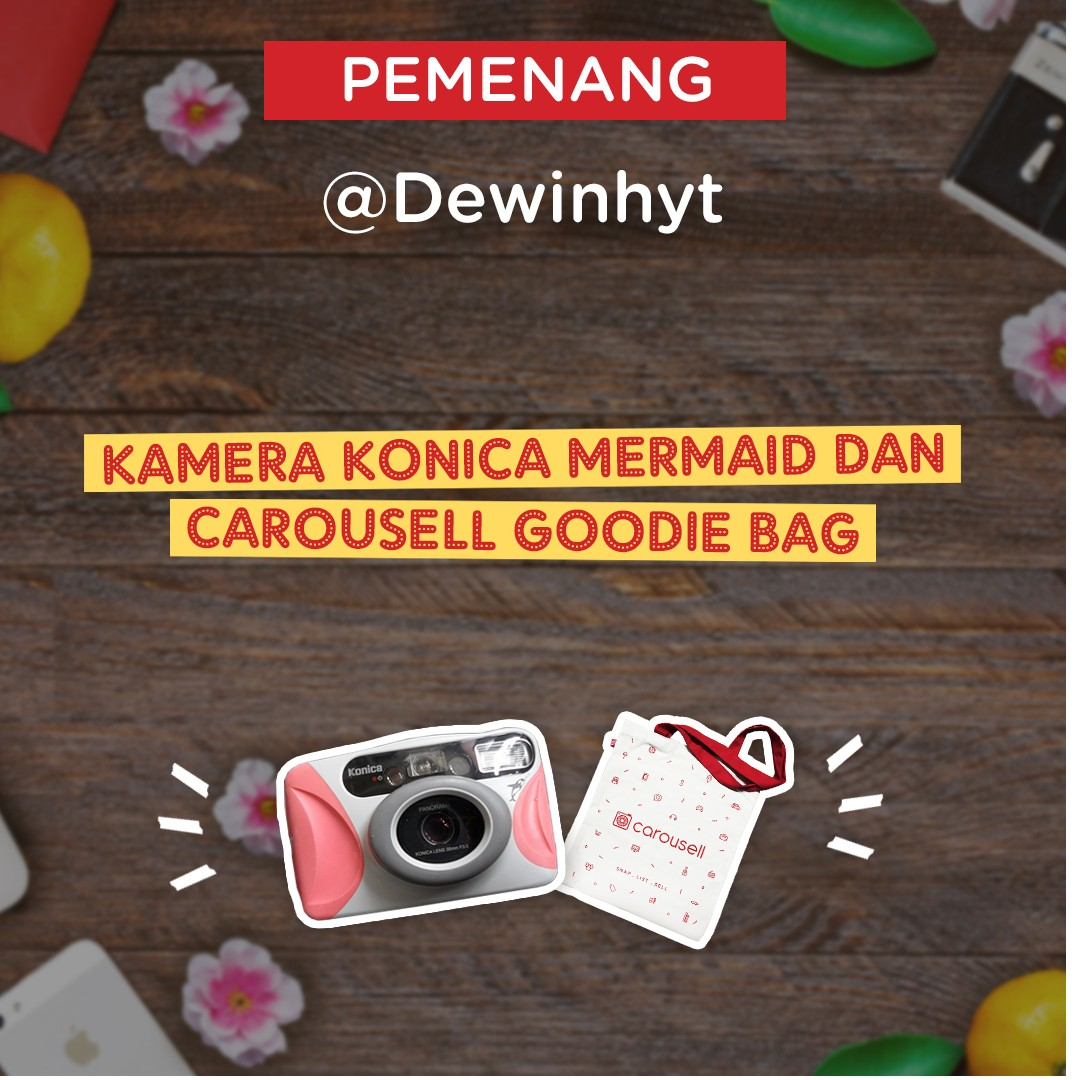 Menangkan kamera Conica Mermaid