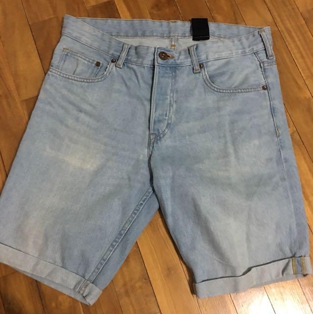 Men's H&M denim Short size 32us