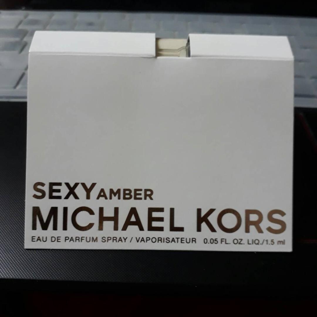 Michael Kors SEXY AMBER 癮誘琥珀女性淡香精 噴頭試管香1.5ml(郵寄含運)