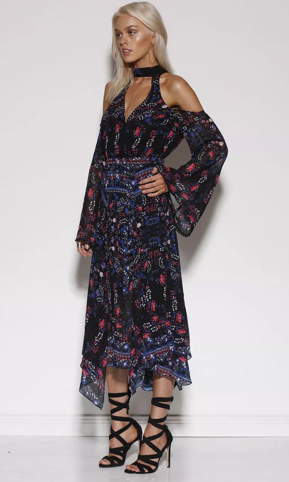 Ministry of Style Midi Olysea Dress 12 BNWT RRP$229