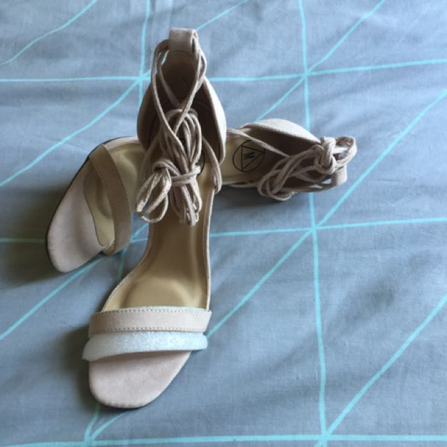 Misguided Suede Material Heels