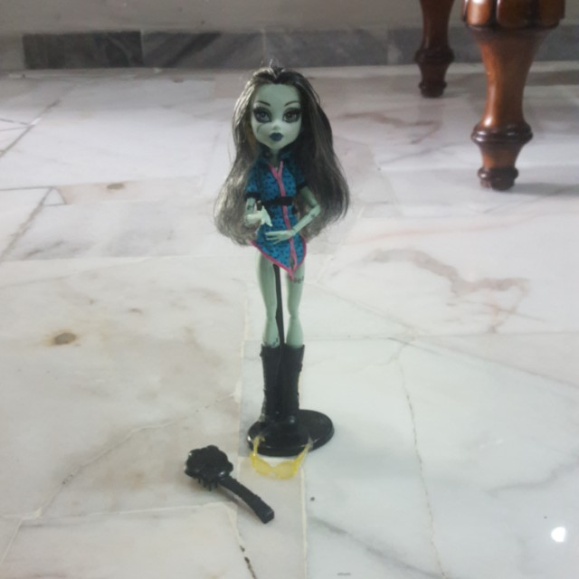 Monster high doll Frankie Stiens(travel version)