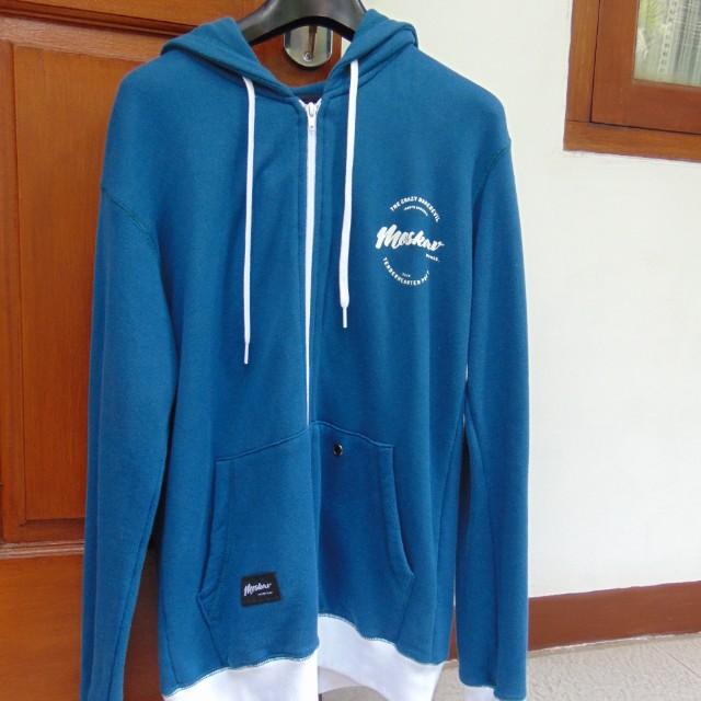 Moskav Men Blue Sweater