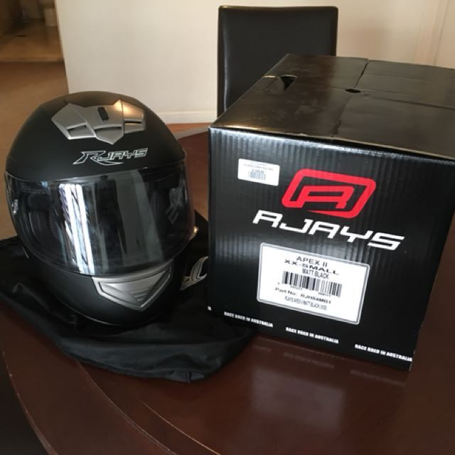 Motorcycle Helmet full face AJAYS APEX II XXSmall