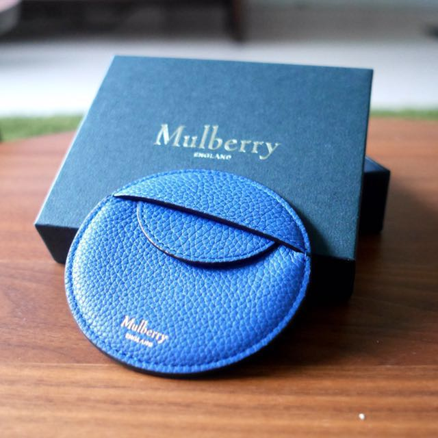 Mulberry Round Coin Pouch