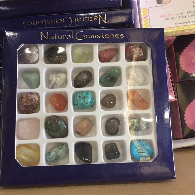 Natural healing gemstones crystals gift set, Everything Else
