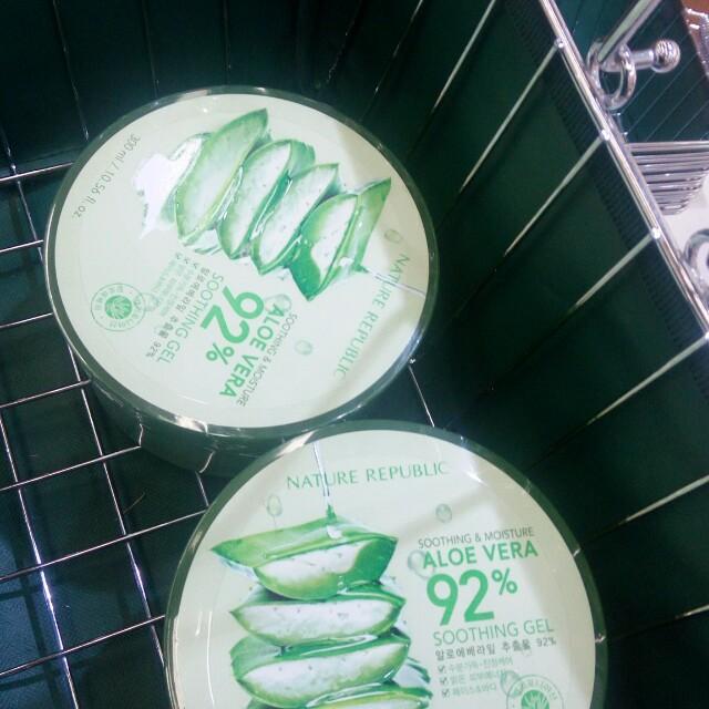 Nature Republic Aloe Vera Gel 92% [SHARE/JASTIP]