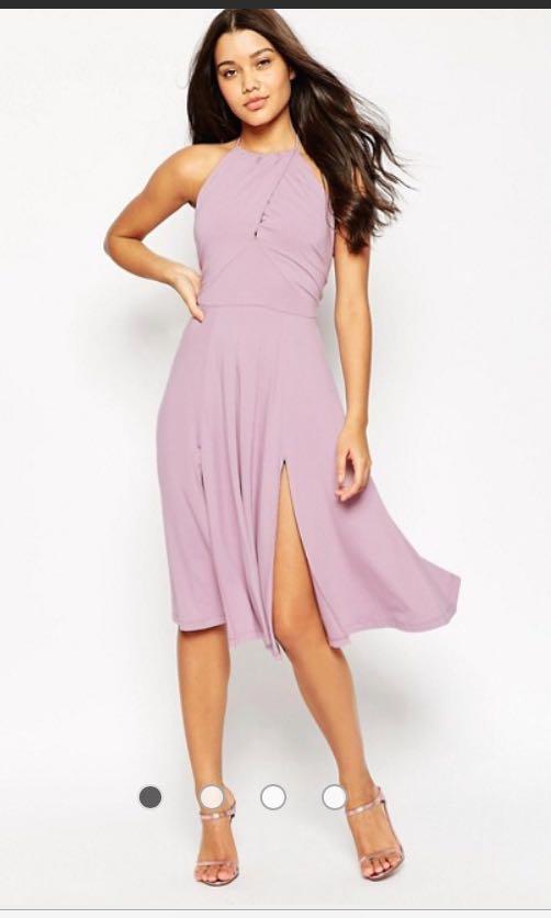 NEW ASOS pink dress