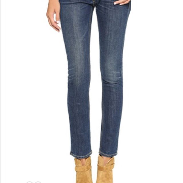 New rag and bone & jeans tomboy NWT 24 authentic