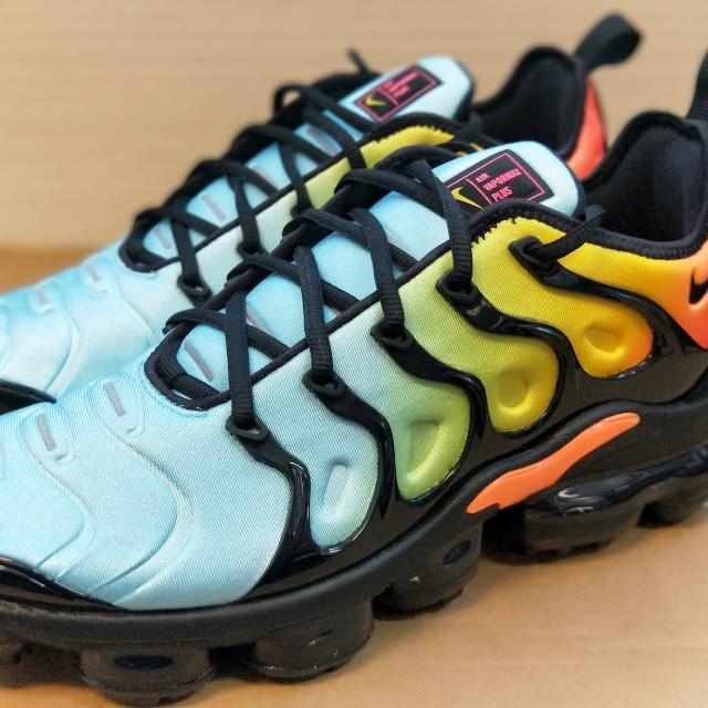 quality design 90930 d82a1 Nike Air VaporMax Plus Bleached Aqua, Mens Fashion, Footwear