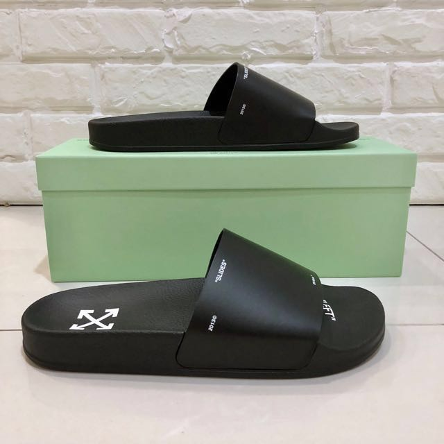 Off_white Virgil Abloh Slides NIB