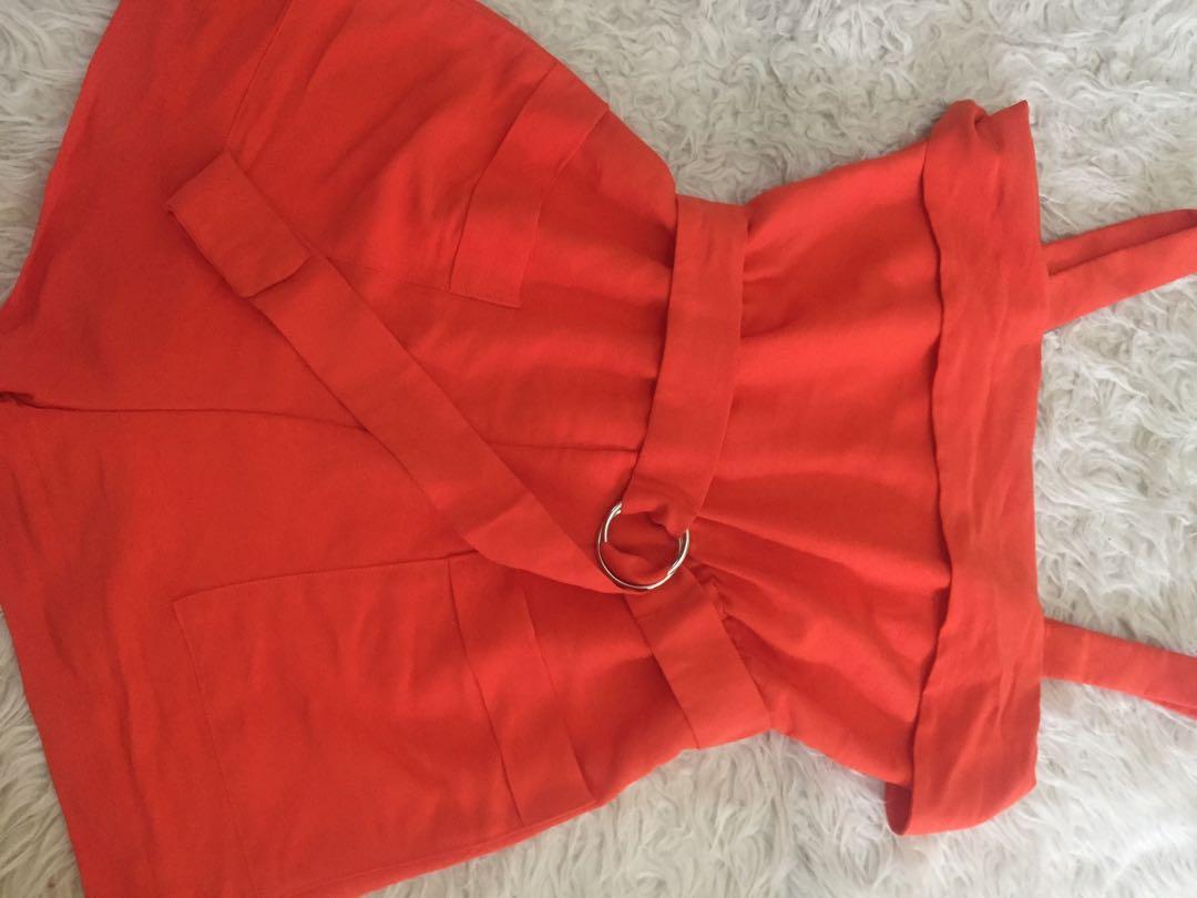 orange jumpsuit Authentic H&M