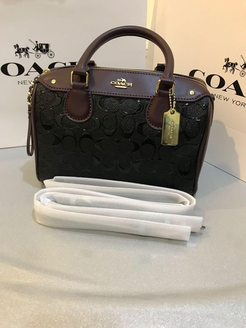 9af76ad75c4c3 Original coach women Handbag Bennett bag