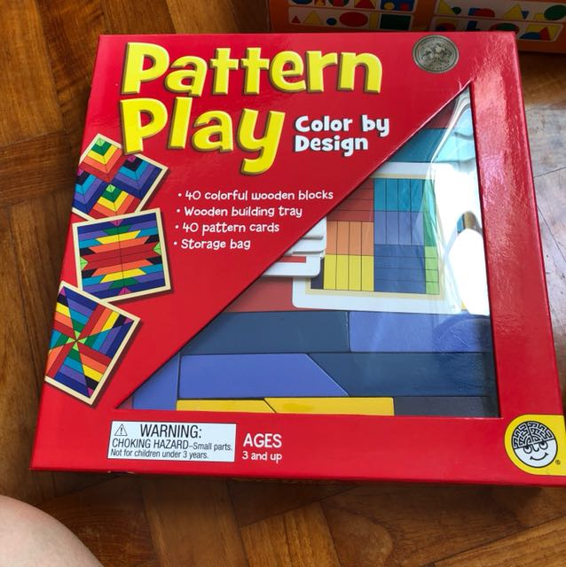 Pattern Play Okie By Design Recommended By Shichida Method In Very