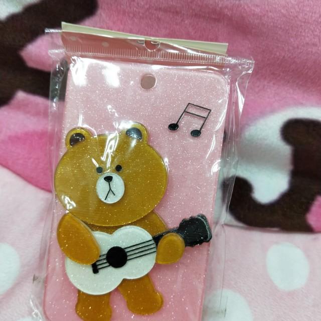 (全新可PC)熊大鑰匙圈卡夾