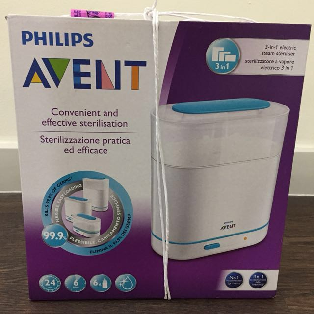 Philips Avent 3-in-1 sterilizer (brand new and sealed)