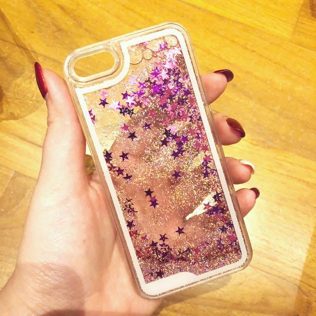 PINK GLITTER Case Iphone 5s