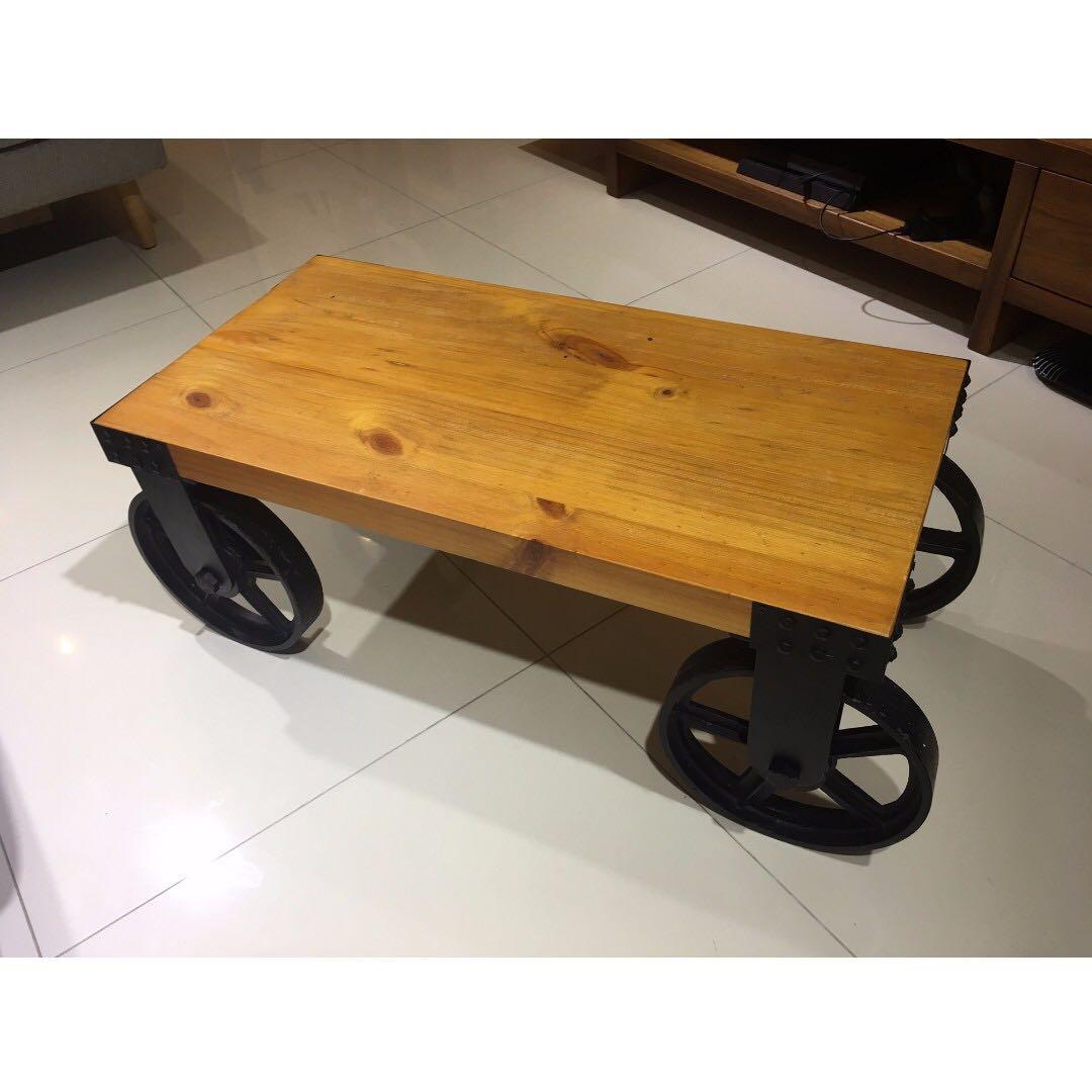 retro coffee table. Photo Retro Coffee Table N
