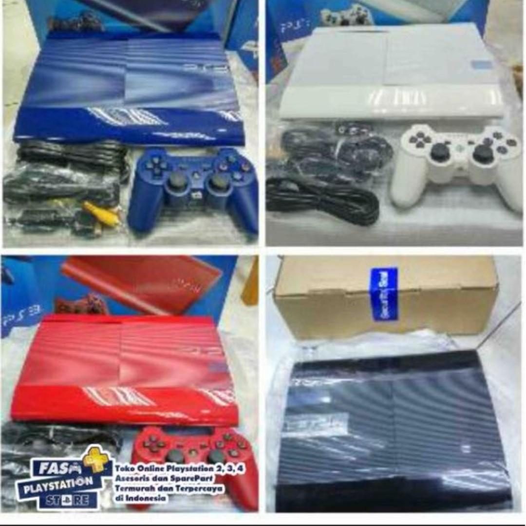 PS3 SS PS3 Superslim PS3 Super Slim Full Game CFW - 2 Stik 500gb Fullgame Terlariss